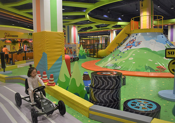 Racing Track Indoor Playground3