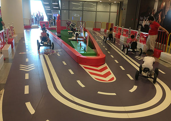Racing Track Indoor Playground2