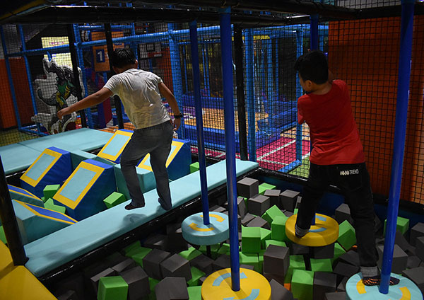 Junior Ninja Course Indoor Playground3