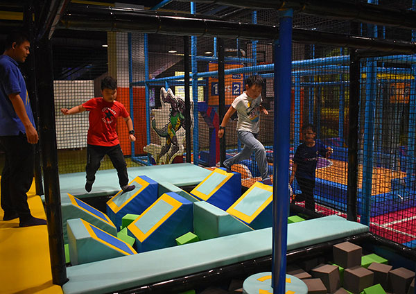 Junior Ninja Course Indoor Playground4